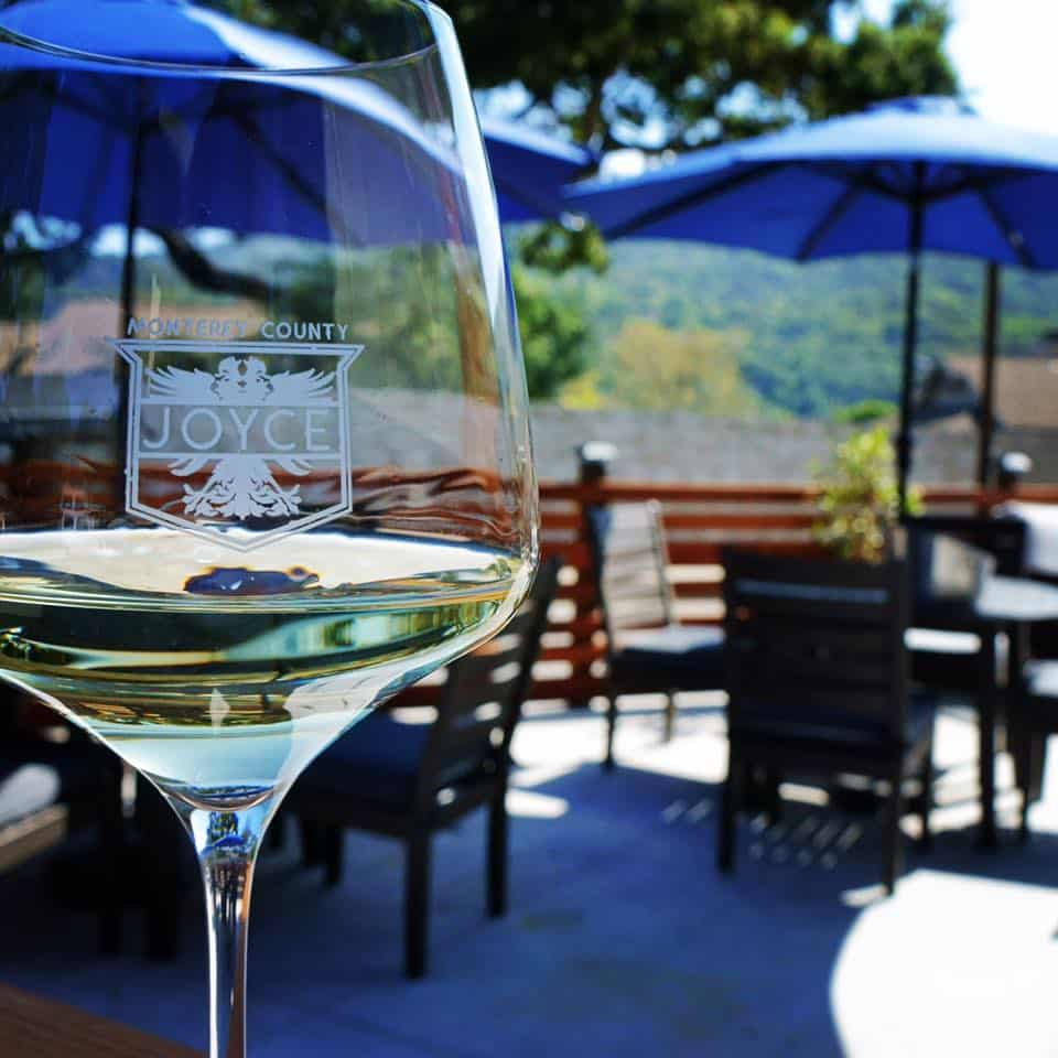 Joyce Vineyards Tasting Room Carmel Valley Patio