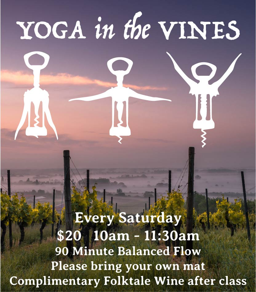 Folktale Winery Yoga In The Vines