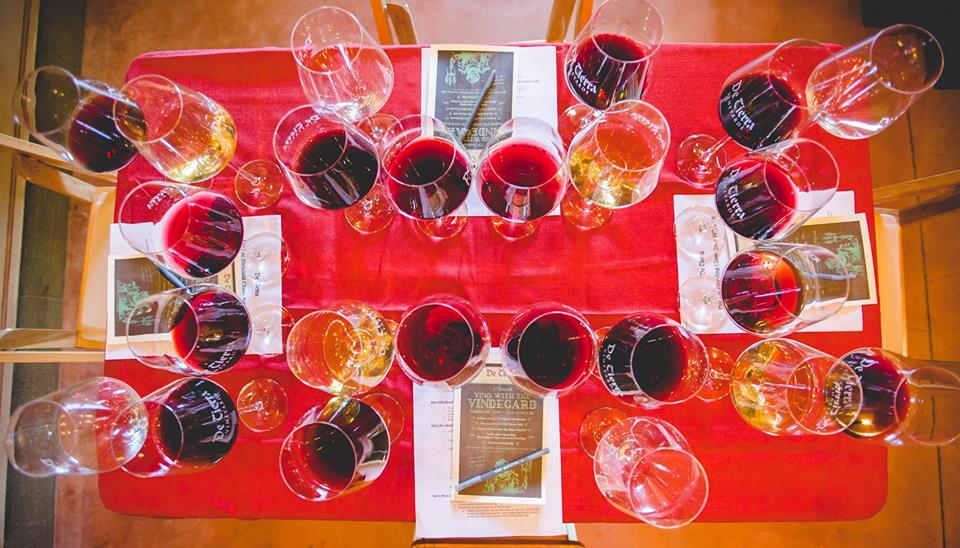 De Tierra Vineyards Summer Solstice Wine Blending