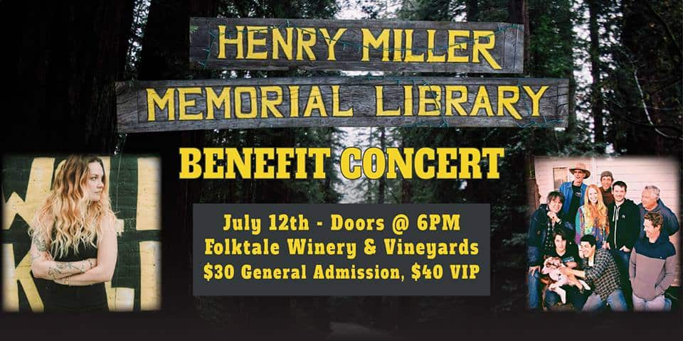 Henry Miller Library Benefit Concert 2017 Lolo