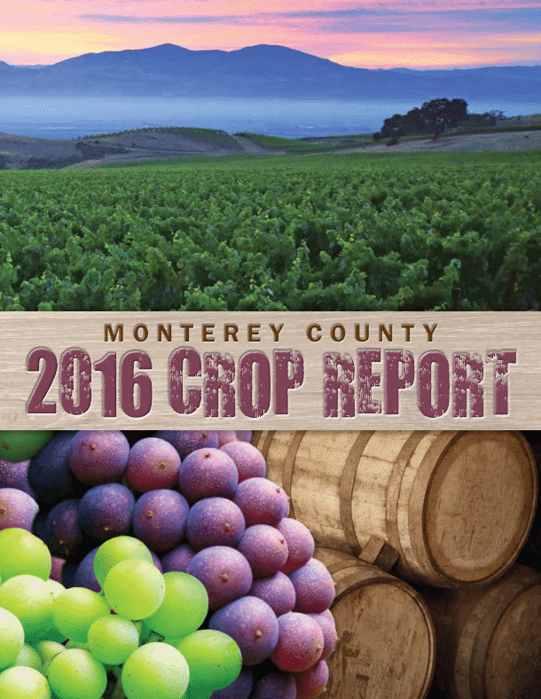 Monterey County Agriculture Commissioner 2016 Crop Report