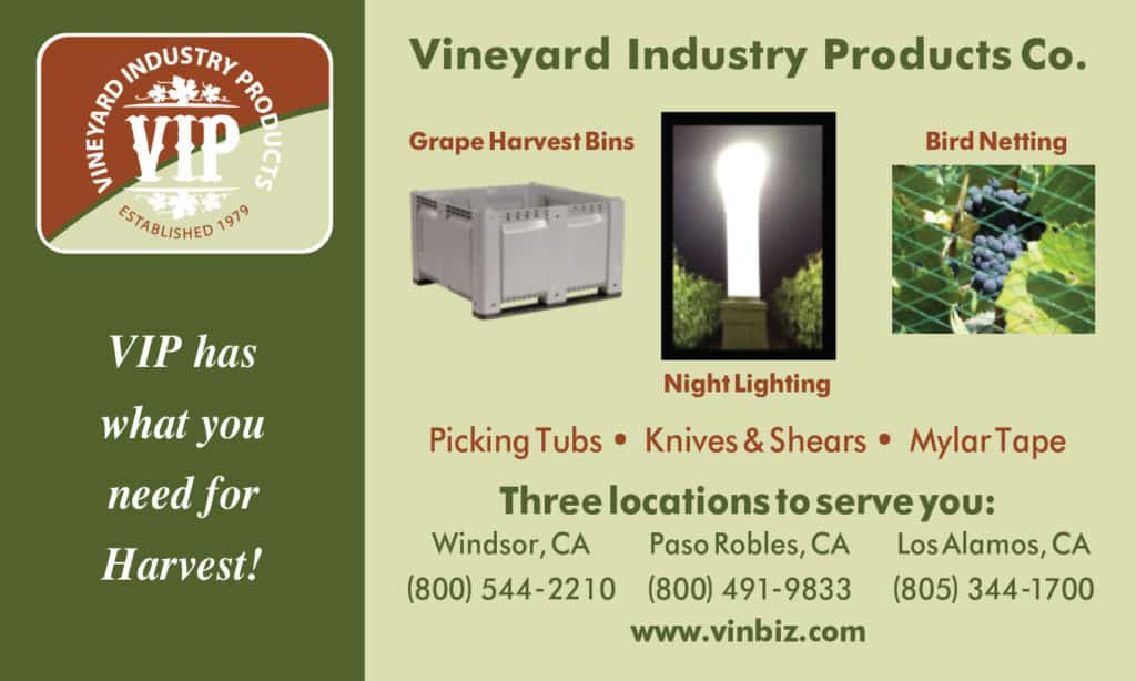 Vineyard Industry Products BBQ Spo Nsorship