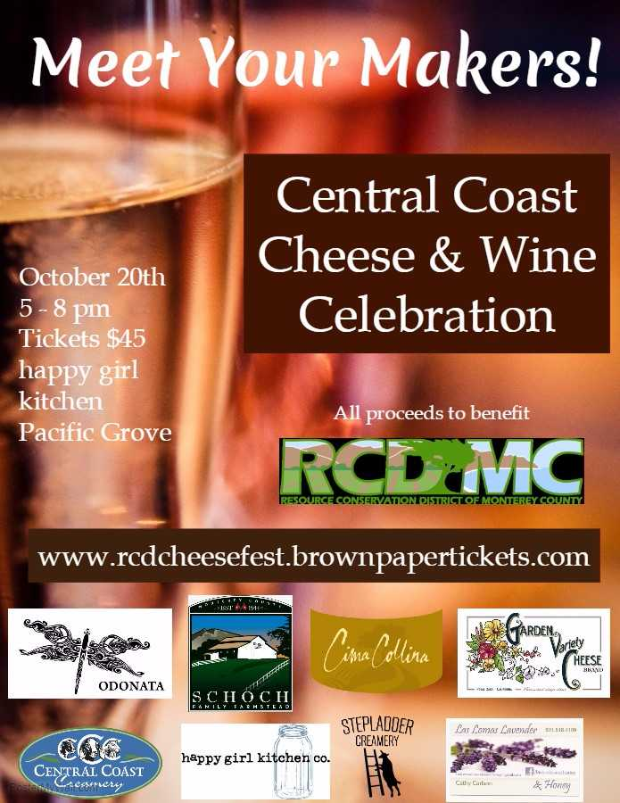 Central Coast Cheese And Wine Celebration 2017