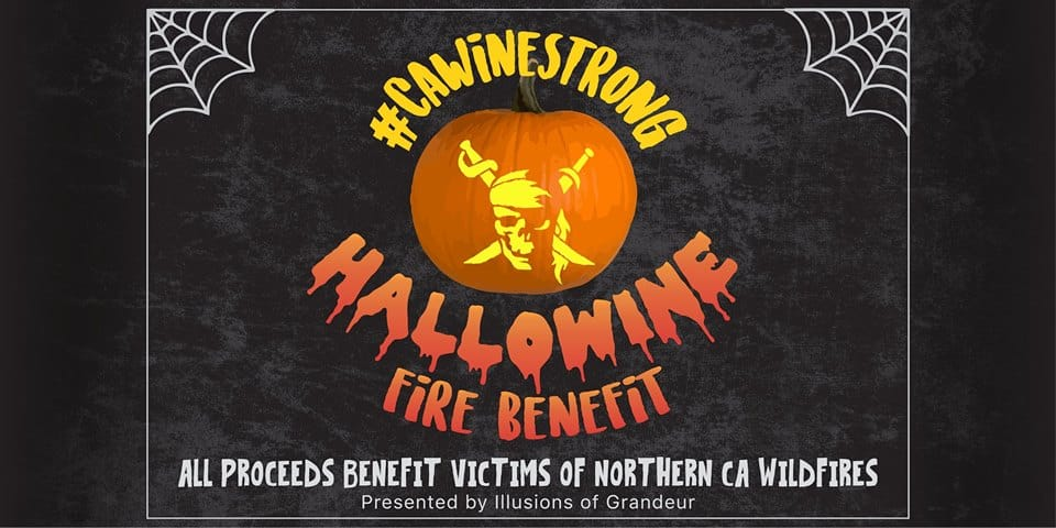 Hallowine CA Wine Strong Fundraiser 2017