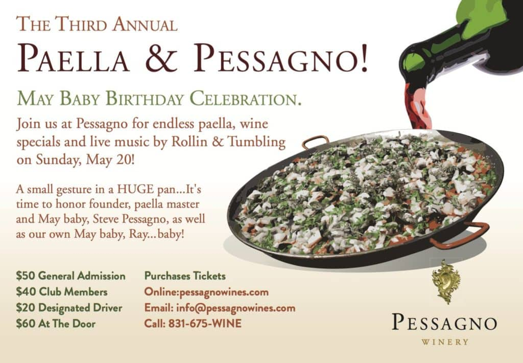 Paella And Pessagno Winery