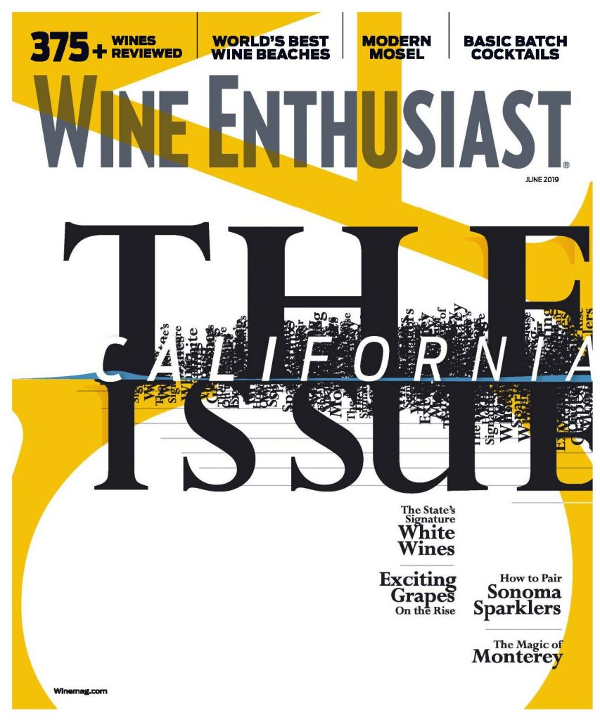Wine Enthusiast June 2019 New Blood Monterey Wine Country 1