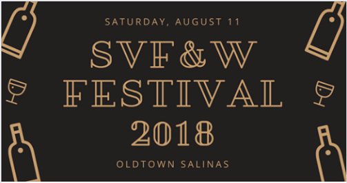 Salinas Valley Food & Wine Festival 2018