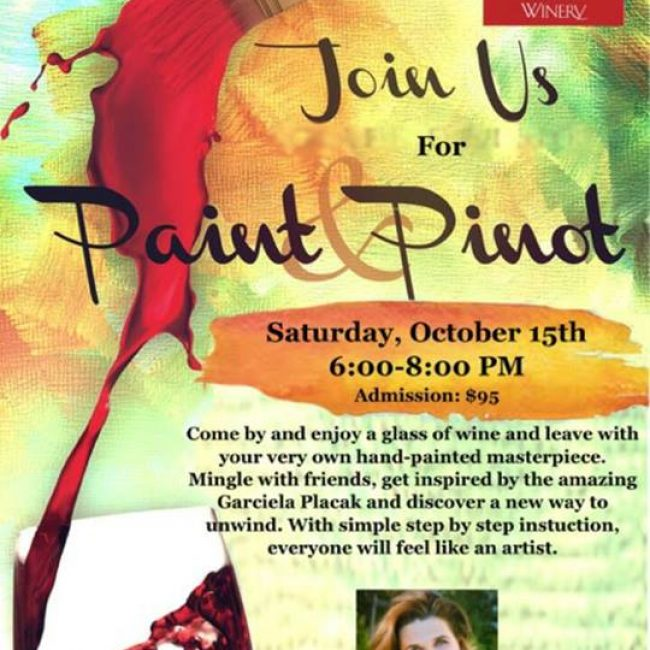 Paint & Pinot with Dawn's Dream Winery