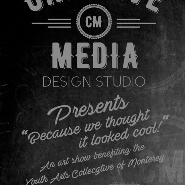 Creative Media Presents: Because we Thought it Looked Cool