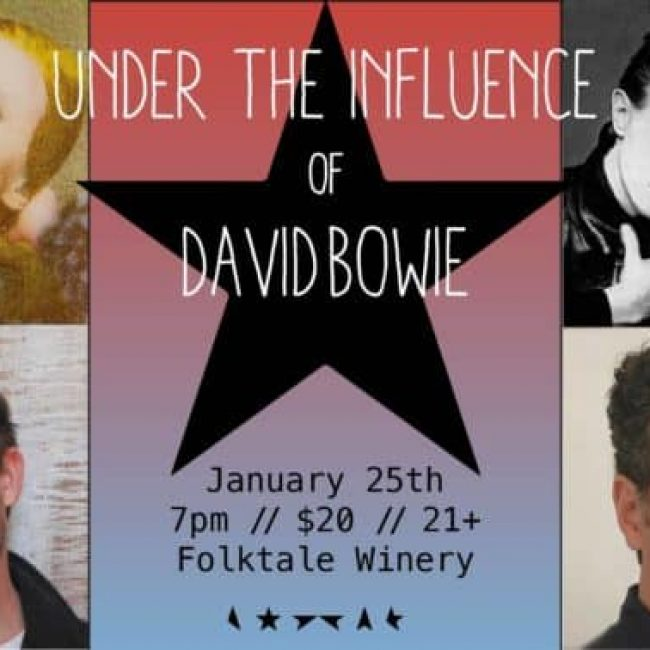 Under the Influence of David Bowie Concert!