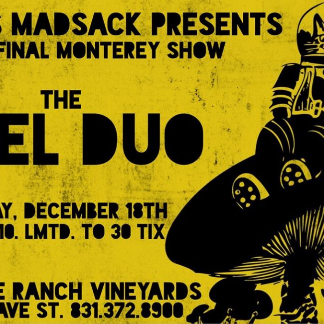 An evening with El Duo (final Gus Madsack Presents concert)