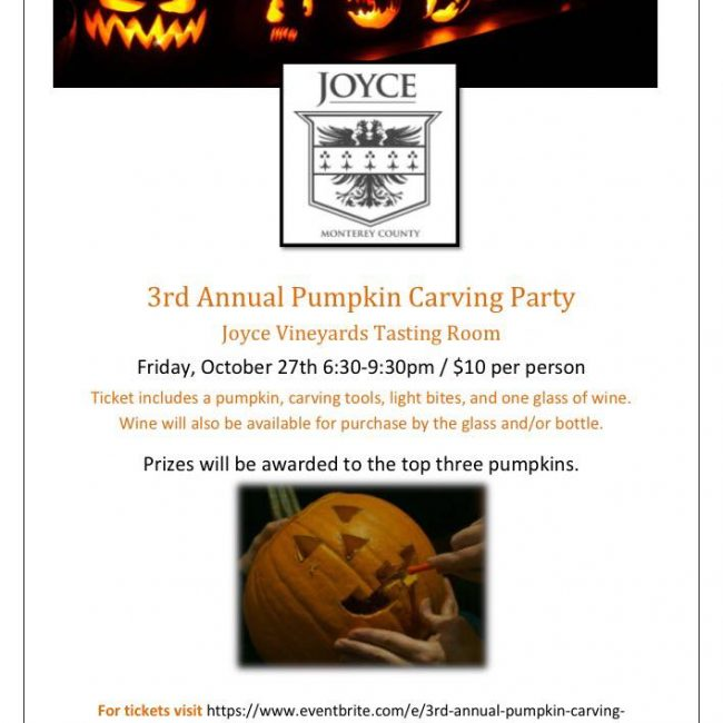 Joyce's 3rd Annual Pumpkin Carving Party