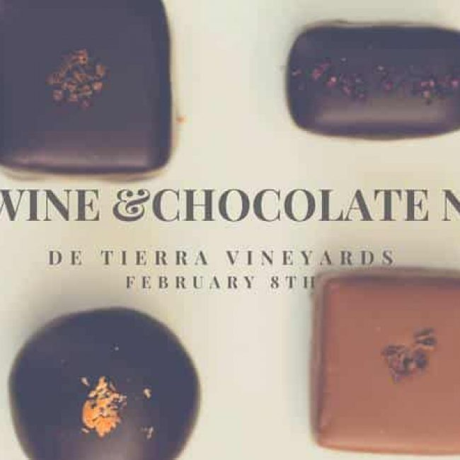 Red Wine & Chocolate Night