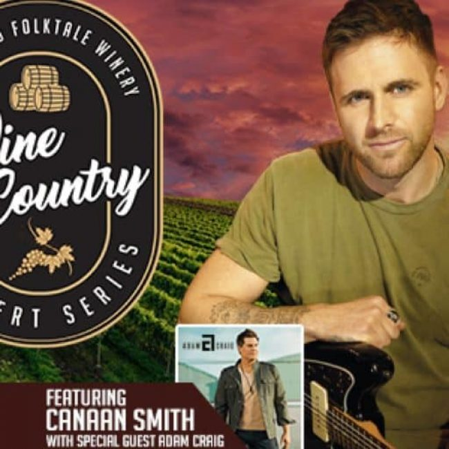 Wine Country Concert Series feat. Canaan Smith