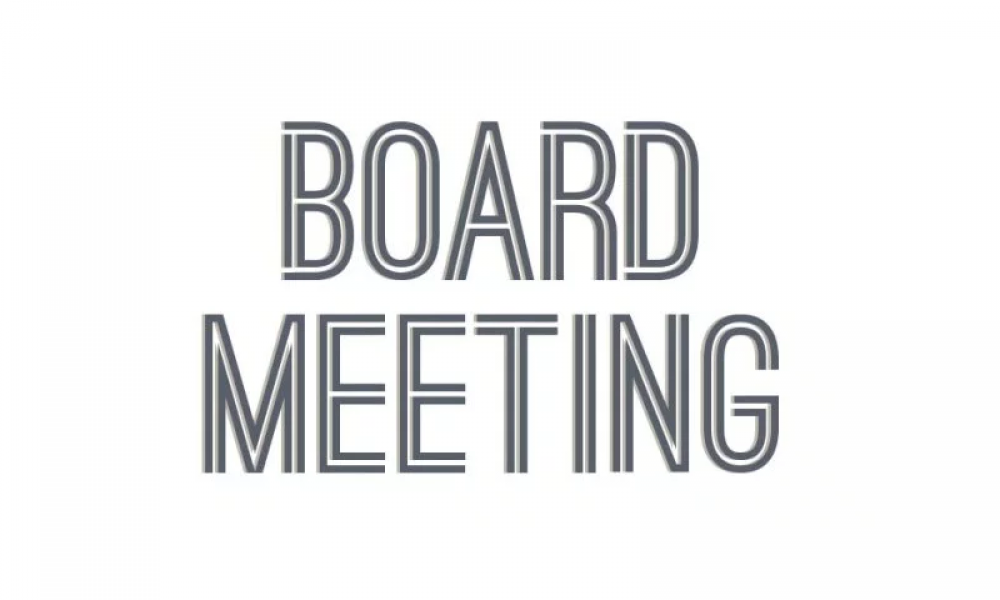 Board Meeting Dec 2018