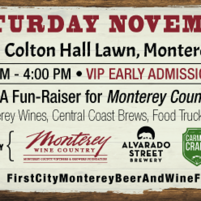 First City: Monterey Beer & Wine Festival