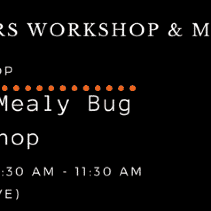 GROWERS WORKSHOP: Controlling Vine Mealy Bugs