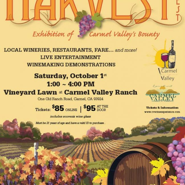 Carmel Valley Wine Experience Harvest